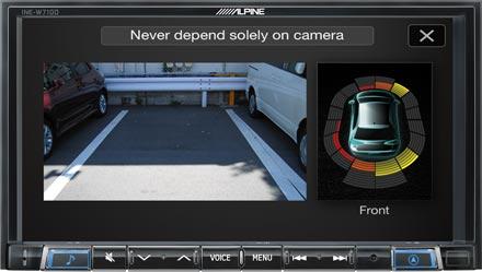 Drive-Assist Cameras - INE-W710DC