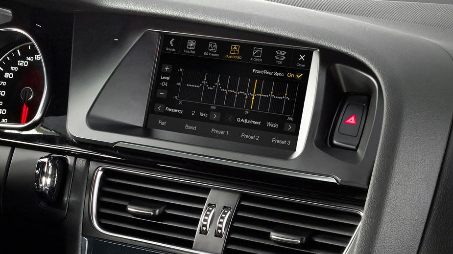 Audi A4 - An Audiophile Sound Experience - X702D-A4