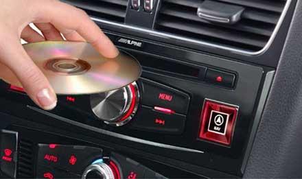 Audi A4 - DVD Player DVE-5300X