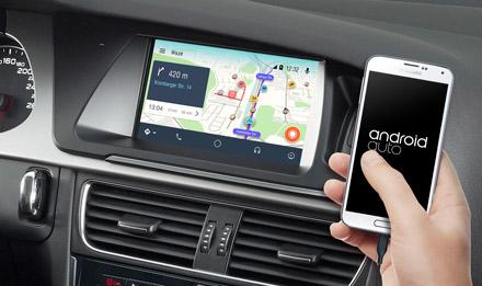 Audi A4 - Online Navigation with Waze - X702D-A4