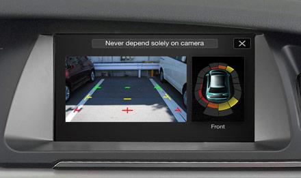 Audi A5 - X702D-A5: Parking Support