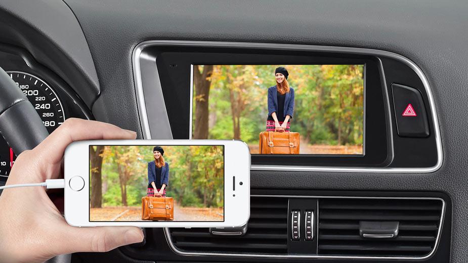 Audi Q5 - Big Screen Entertainment - X702D-Q5