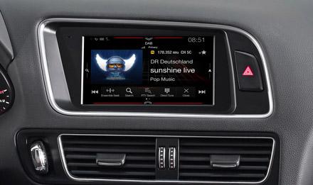 Audi Q5 - DAB Digital Radio - X702D-Q5