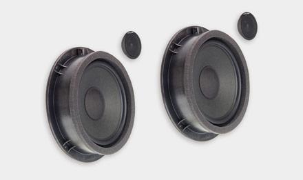 Audi Q5 - SPC-100AU 2-way High-end Front Speaker System Upgrade
