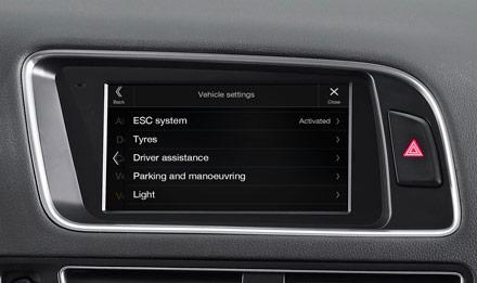 Audi Q5 - X702D-Q5: Vehicle Information