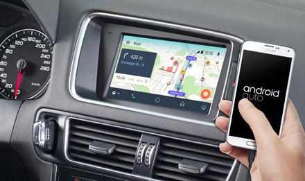 Audi Q5 - Online Navigation with Waze - X702D-Q5
