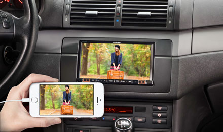 BMW 3 E46 - Big Screen Entertainment - iLX-702E46