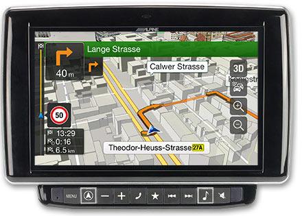 Ducato, Jumper and Boxer - Navigation - 3D Maps  - X901D-DU