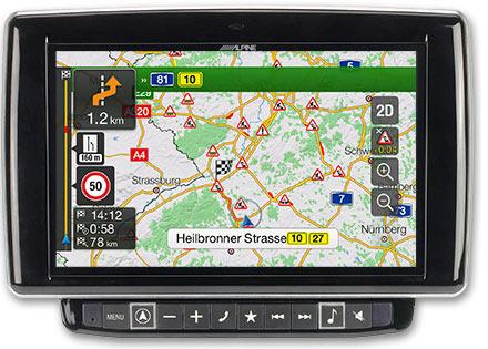Ducato, Jumper and Boxer - Navigation - Plan Your Route  - X901D-DU