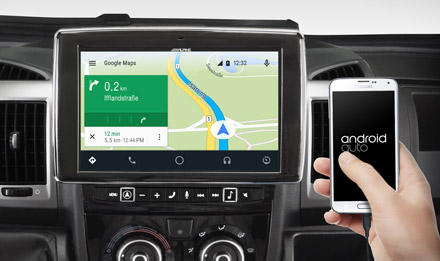 Online Navigation with Android Auto - X902D-DU
