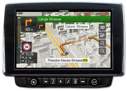 Ducato, Jumper and Boxer - Navigation - 3D Maps  - X903D-DU