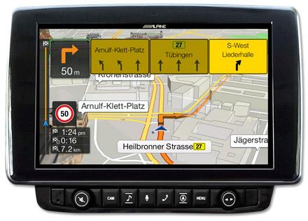 Ducato, Jumper and Boxer - Navigation - Lane Guidance / TMC Route Guidance  - X903D-DU