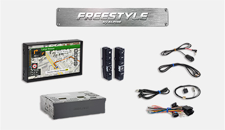 All parts included - Freestyle Navigation System X701D-F