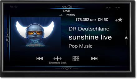 DAB+Digital Radio - Navigation System X701D-F