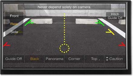 Parking assistance - Freestyle Navigation System X701D-F