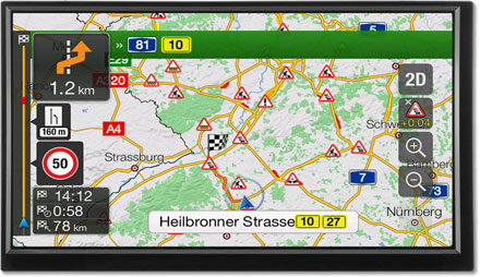 Plan Your Route Map - Navigation System  X701D-F