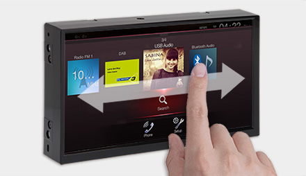 User Interface - Freestyle Navigation System X701D-F