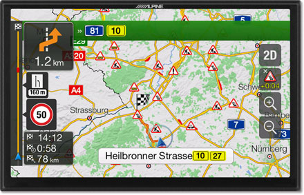 Plan Your Route Map - Navigation System  X901D-F