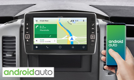 Online Navigation with Android Auto - X903D-S906