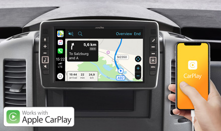Online Navigation with Apple CarPlay - X903D-S906