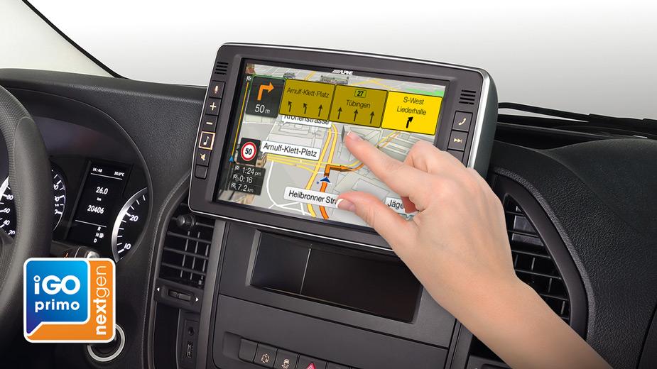 Alpine Style Navigation Designed for Mercedes Vito - X903D-V447