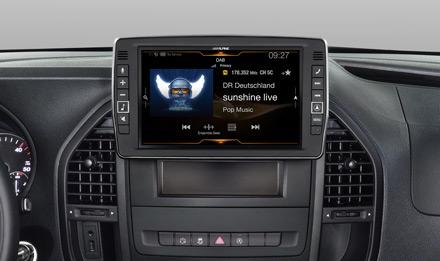 Mercedes Vito - DAB Digital Radio - X903D-V447