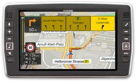 Mercedes Vito - Navigation - Lane Guidance / TMC Route Guidance  - X903D-V447
