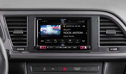 SEAT Leon - DAB Digital Radio - iLX-702LEON