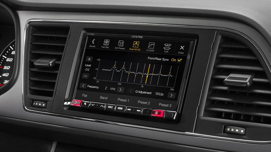 SEAT Leon - Professional Equalisation - iLX-702LEON