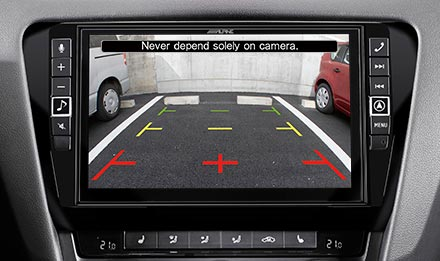 Skoda Octavia 3 - Rear View Camera - X902D-OC3