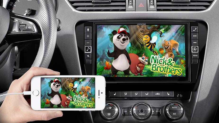 Skoda Octavia 3 - Big Screen Entertainment - i902D-OC3