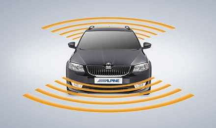 Skoda Octavia 3 - Parking Sensors - i902D-OC3