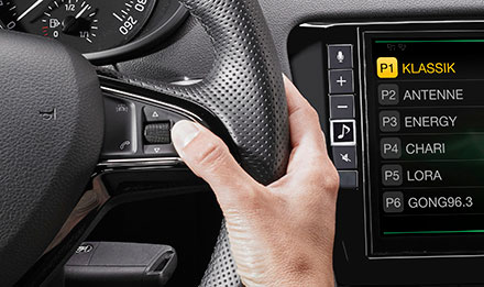 Skoda Octavia 3 Steering Wheel Remote Control Buttons i902D-OC3