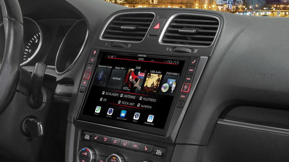 Alpine Style Navigation Designed for Volkswagen Golf 6 - X903D-G6