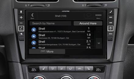 Golf 6 - Navigation - Points of Interest  - X903D-G6