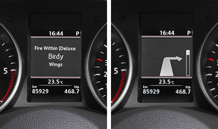 Golf 6 Driver Information Display X903D-G6