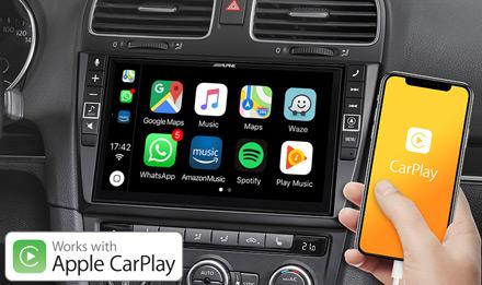 Golf 6 - Works with Apple CarPlay - X903D-G6