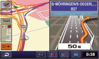 3D Motorway Junction Guidance